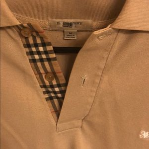 Men's Burberry polo M